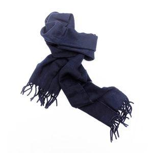 Christian Dior | Vintage Navy Blue Wool Scarf